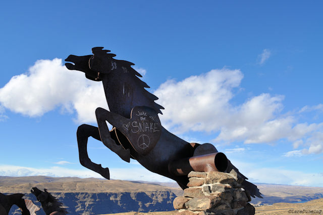 Wild Horse Monument