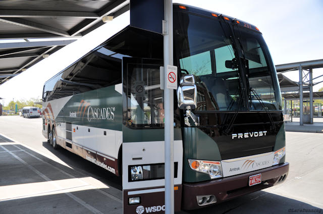 A Ride on the Amtrak Thruway Bus