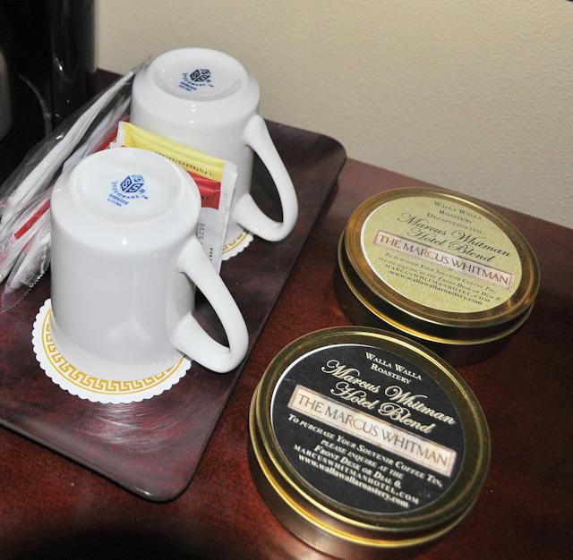 Marcus Whitman Hotel blend coffee.