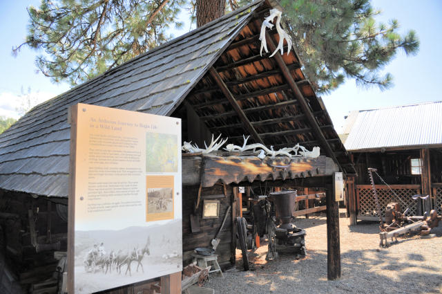 Shafer Museum Cabin