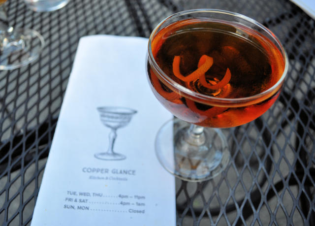 Copper Glance Cocktail