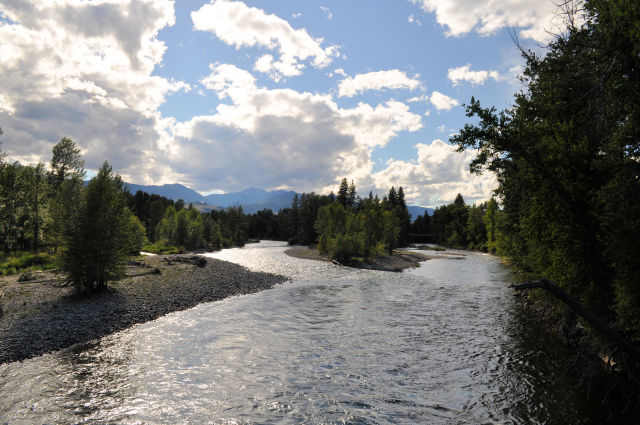 Methow River in Winthrop