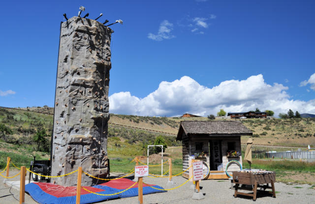 Methow Valley Ciderhouse Climbing Wall