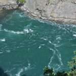 The rapids of Deception Pass.