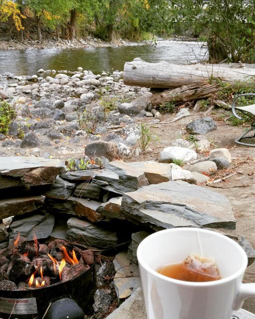 Twisp River Suites Fireside Tea