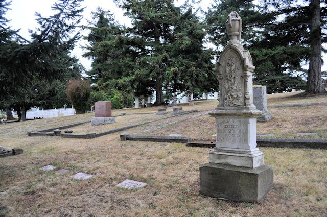 Sunnyside Cemetery in Coupeville Washington