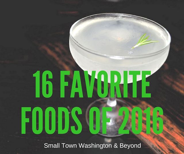 Favorite Foods of 2016
