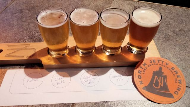 North Jetty Brewing Sampler