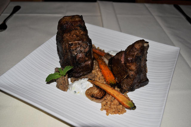 Harrissa Rubbed Lamb Chops