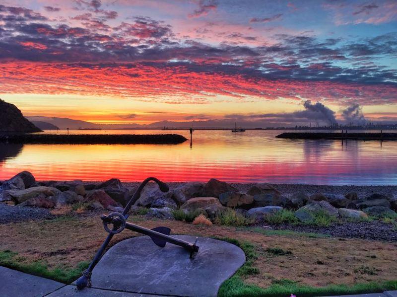 Sunrise at Seafarers Park