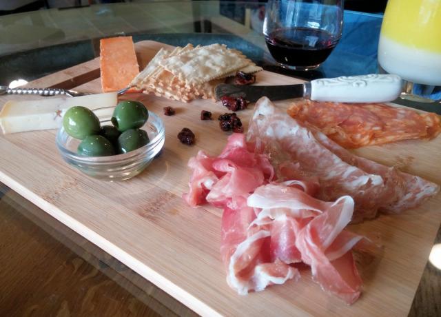 Three of My Favorite Things - Cheese, Wine & Charcuterie - at Salt & Vine in Anacortes, WA
