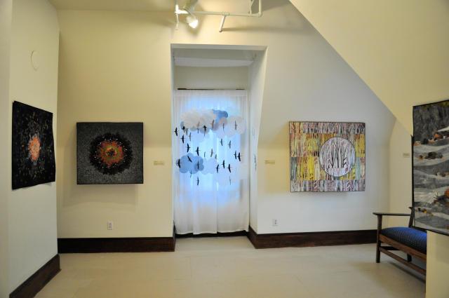 Pacific Northwest Quilt & Fiber Arts Museum exhibits.