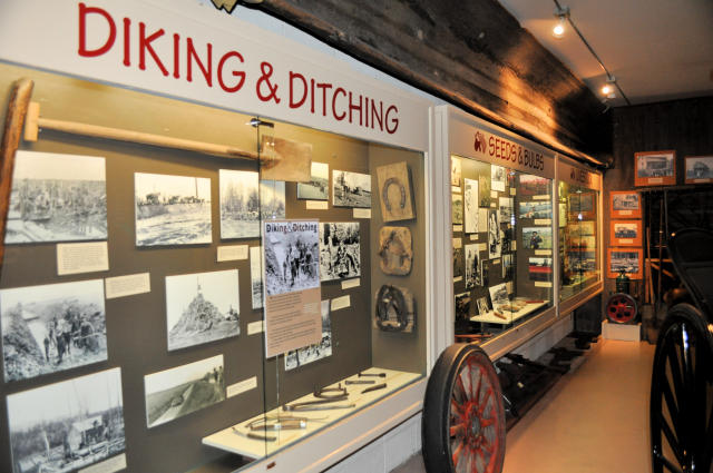 Skagit County Historical Museum exhibits.