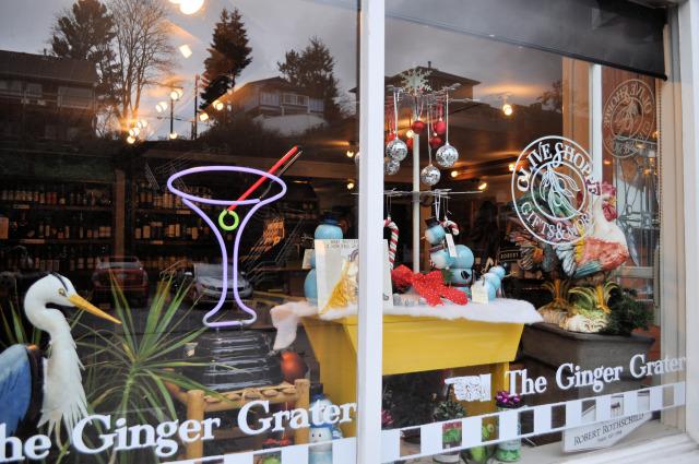 The Ginger Grater in La Conner, Washington.