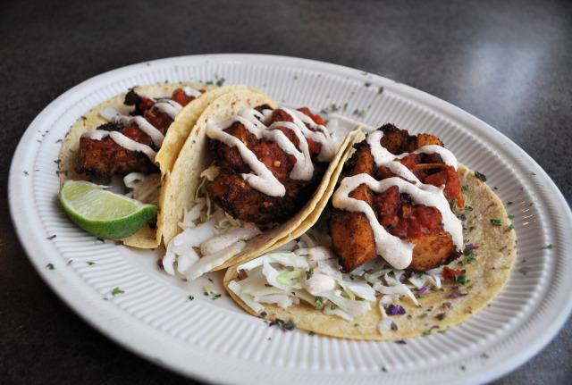 Tacos at La Conner Seafood & Primerib.