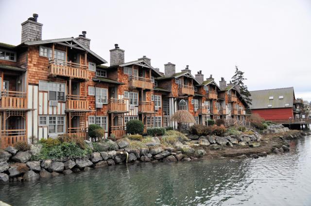 Romantic getaway at the La Conner Channel Lodge in La Conner, Washington.