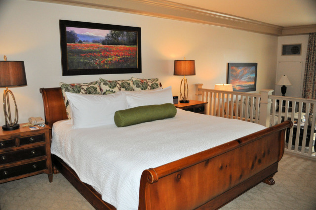 The suite at the Hotel Bellwether.