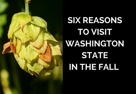 Six reasons to visit Washington State in the fall.