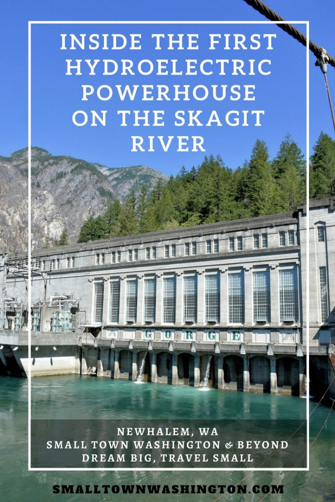 Gorge Powerhouse Pin