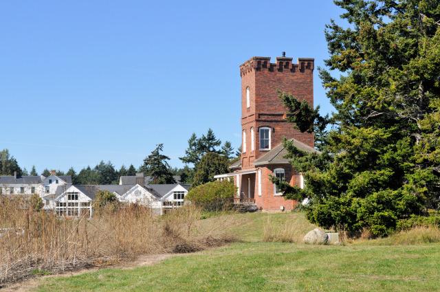 Alexander's Castle at Fort Worden.