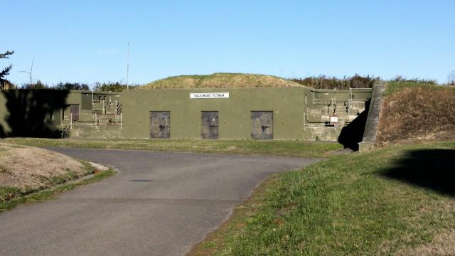 Battery Putnam at Fort Worden.