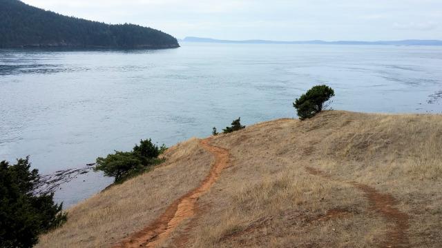 Washington Park trails.