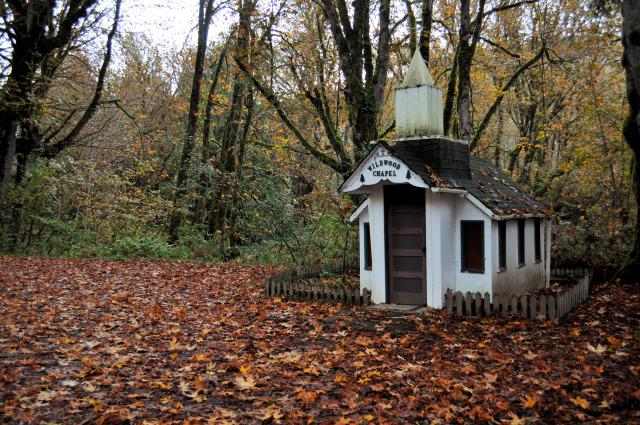 Wildwood Chapel in Marblemount, WA.