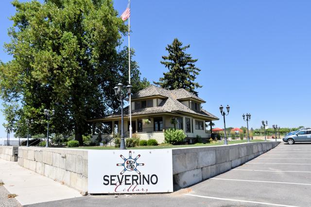 Severino Cellars in Zillah, WA.