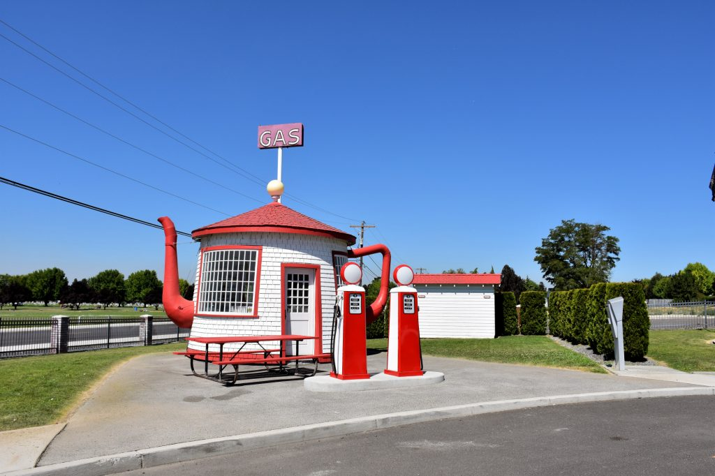 The Teapot Dome Service Station in Zillah, WA.