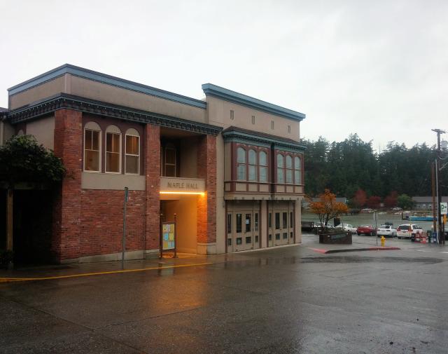 Maple Hall in La Conner, WA.