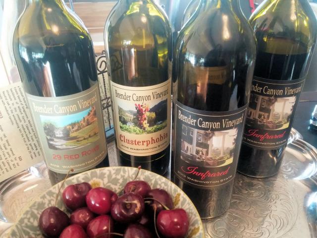 Wine tasting at Warm Springs Inn & Winery.