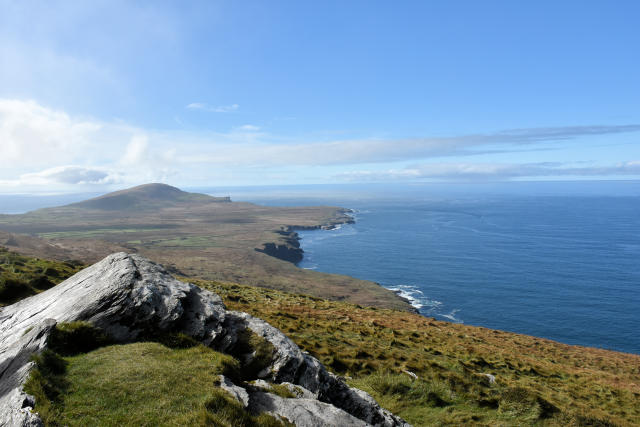 View from Fogher Cliffs on Valentia Island.