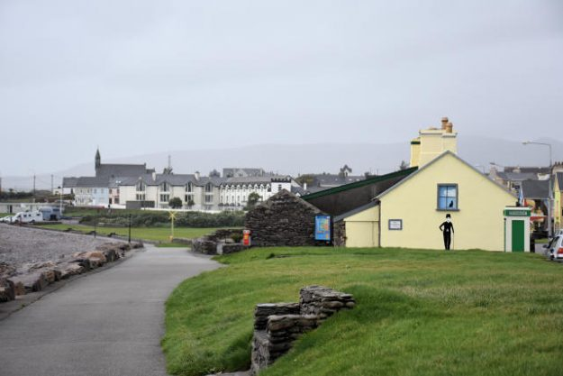 The promenade in Waterville, Ireland.