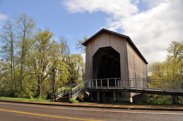 Chambers Railroad Bridge in Cottage Grove, Oregon.