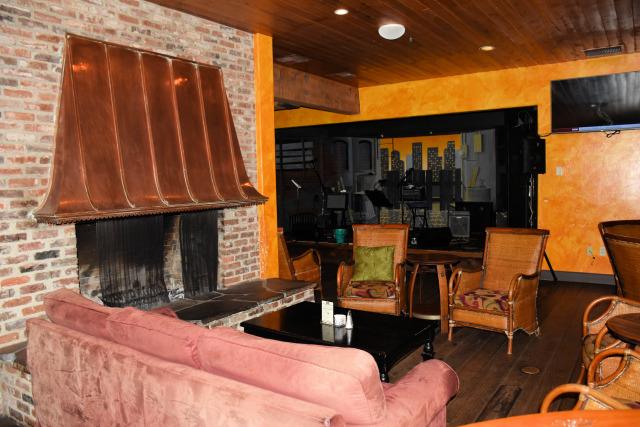 Fireside Lounge at the Village Green Resort.
