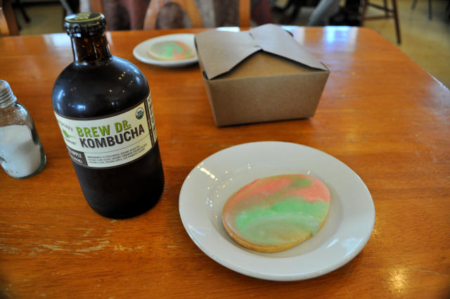 Sugar cookie at Creswell Bakery in Creswell, Oregon.