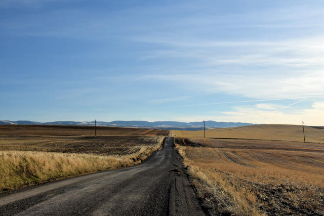 View from Bever Road in the Lewis Clark Valley.