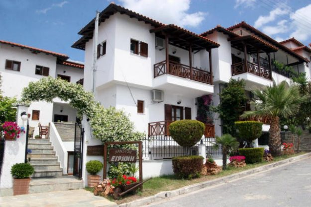 Pension Irini in Ouranouplis, Greece.