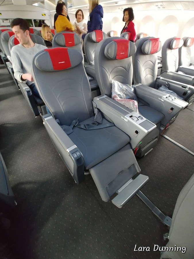 Norwegian Airlines Premium Class Seating.