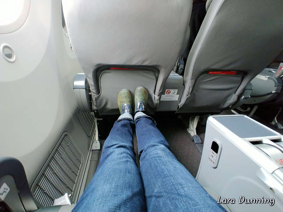 Charming Plenty Of Leg Room In Premium Seating On Norwegian Airlines.