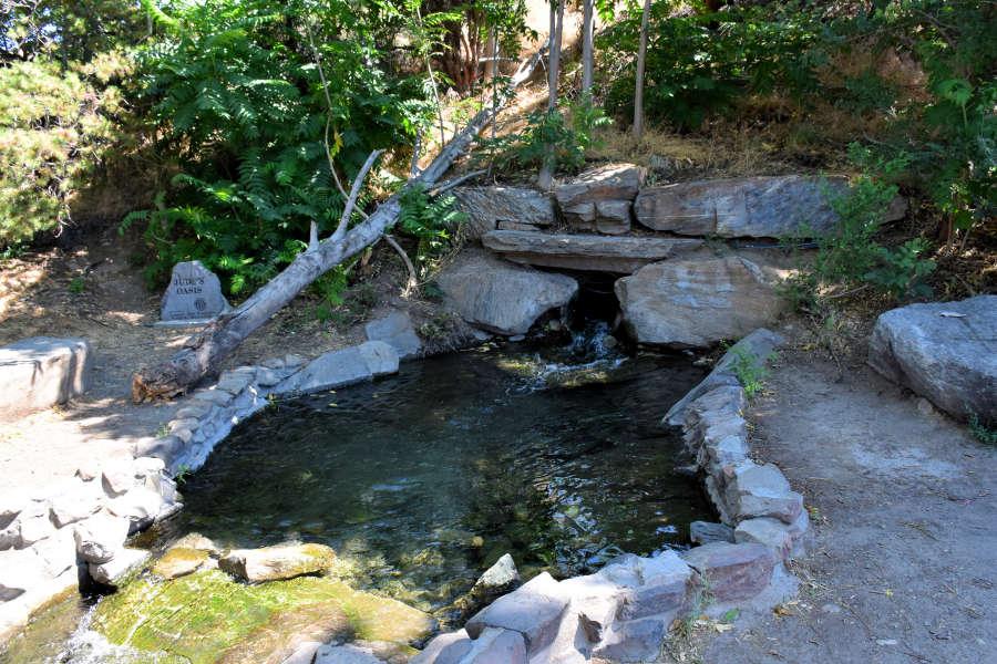 Wading pool along the Apple Capital Loop Trail in Wenatchee, Washington.