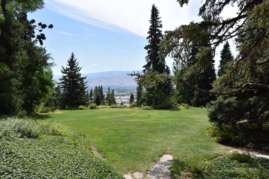 Ohme Gardens in Wenatchee, Washington.