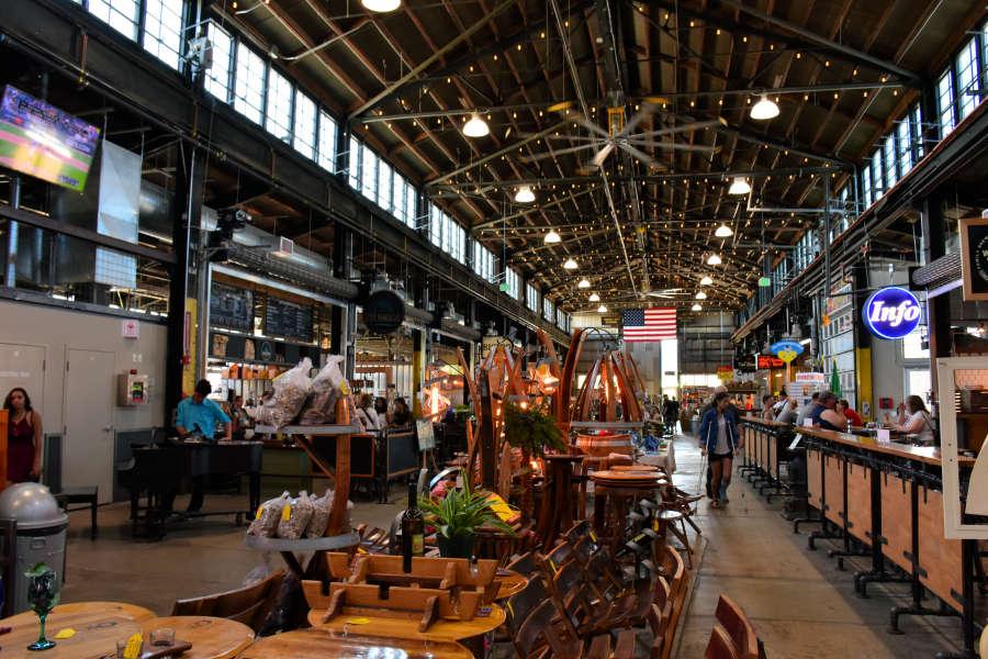 Pybus Market in Wenatchee, Washington.