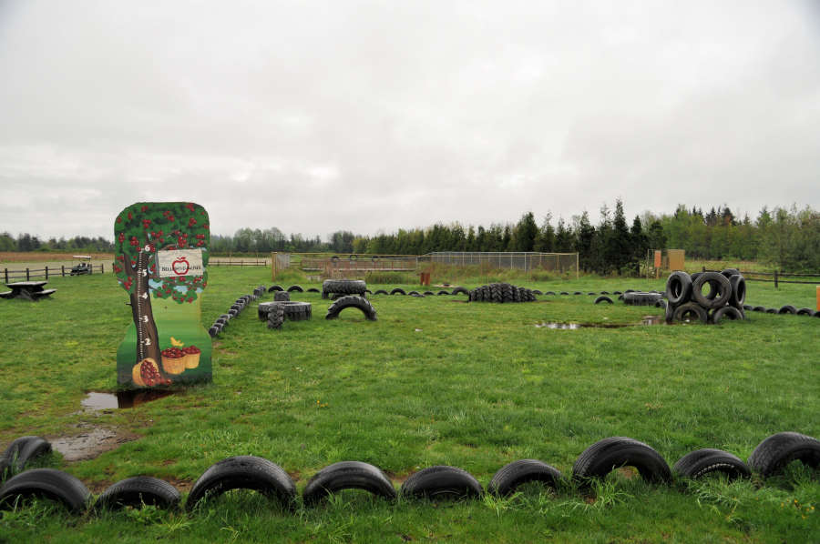 Play area Bellewood Acres in Lynden, Washington.
