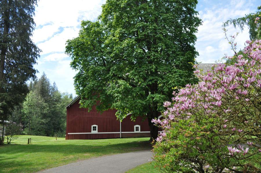 Berthusen Park in Lynden, Washington