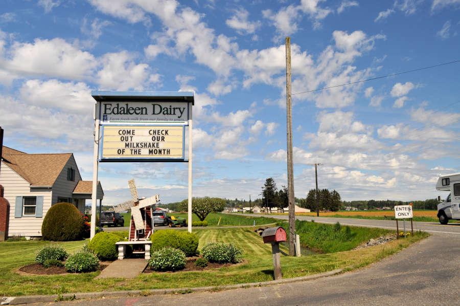 Edaleen Diary in Lyden, Washington.