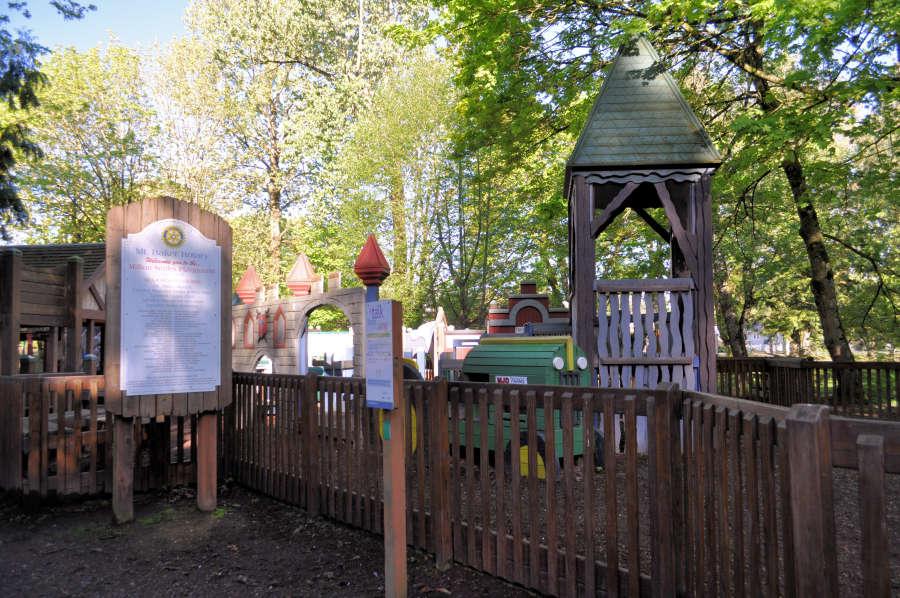 Playground at Lynden City Park.