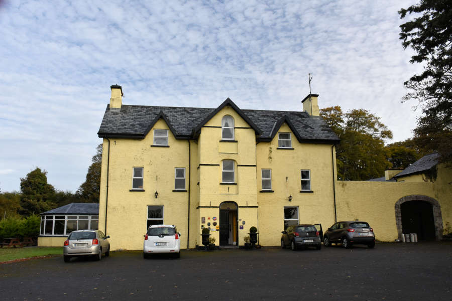 Carrygerry Country House in Shannon, Ireland.