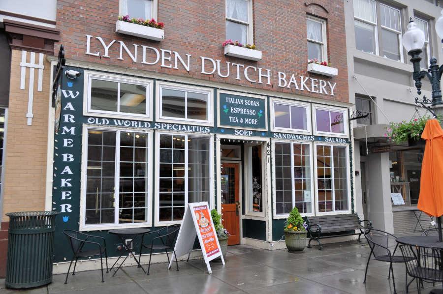 lynden Dutch Bakery in Lynden, Washington.