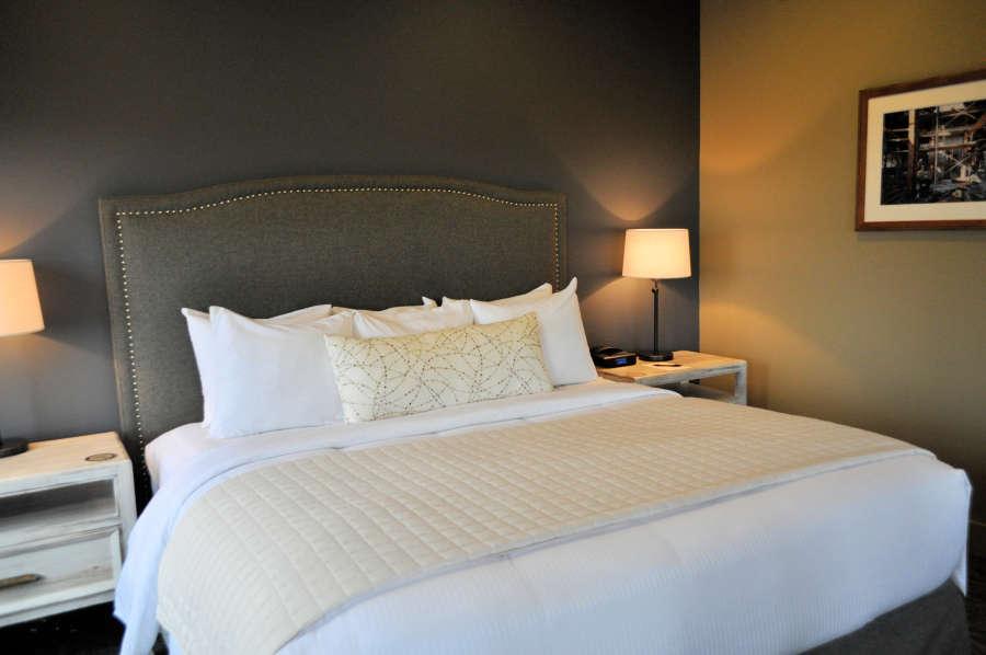 Bedroom at the Inn at Lynden.